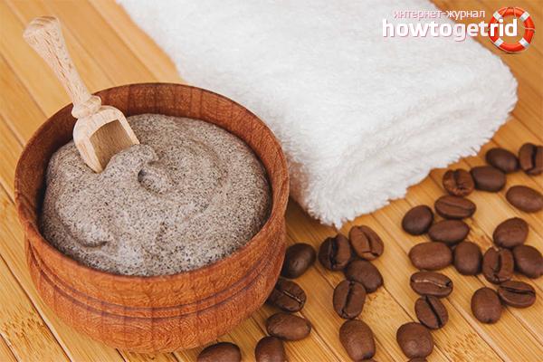 Маски для волос с кофе