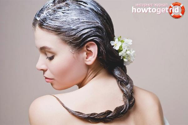 Маски против электризации волос
