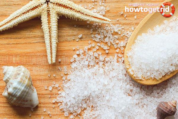 Маски с морской солью для волос