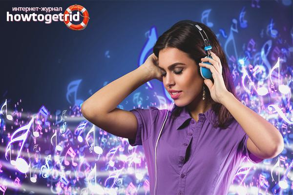 Подавление невроза музыкой и цветом