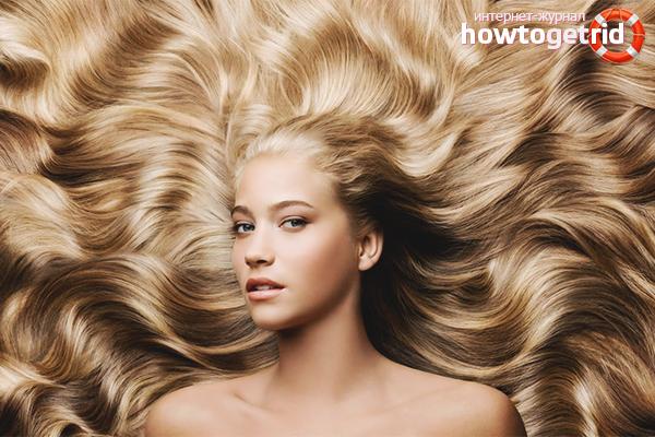 Уход за волосами в зависимости от типа