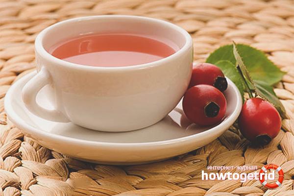 Чай с шиповником от простуды