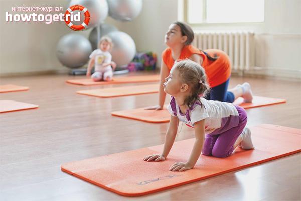 Физкультура для укрепления нервной системы ребенка