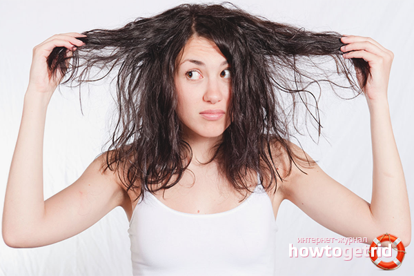Как бороться с жирными волосами