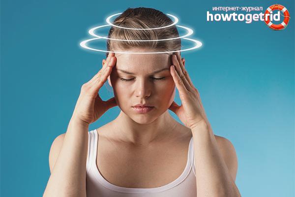 Как избавиться от головокружения при остеохондрозе