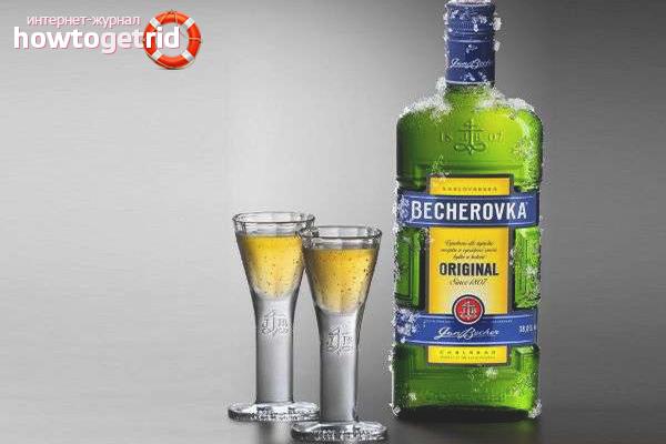 Как пить Бехеровку в чистом виде
