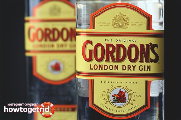 Как пить джин «Gordons»