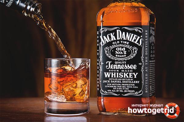 Как пить виски «Джек Дэниэлс»