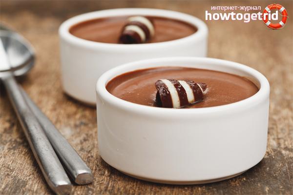 Как приготовить шоколадный пудинг