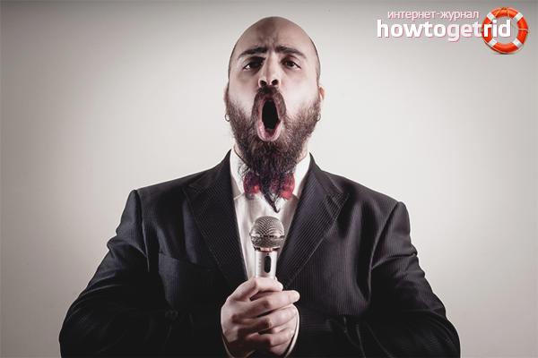 Как сделать голос грубее
