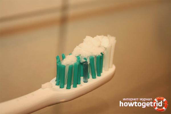 Как сода вредит зубной эмали