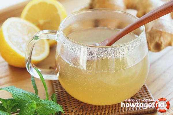 Медовая вода с соком лимона