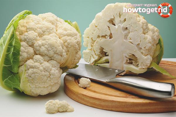 Польза цветной капусты при похудении