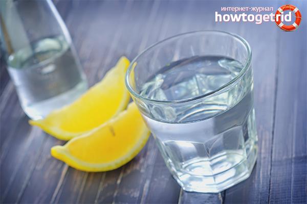 Польза воды с лимоном при похудении