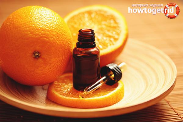 Способы применения апельсинового масла для волос