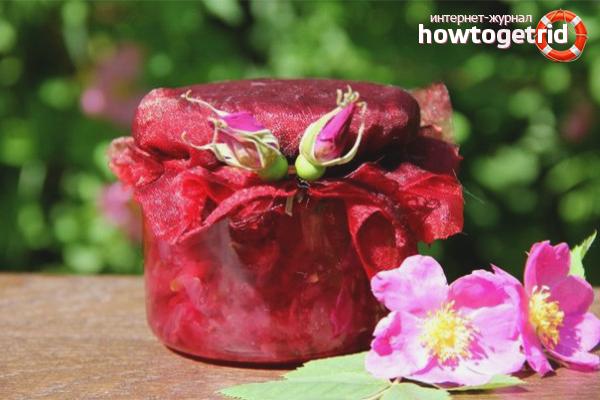 Варенье из лепестков (соцветий) шиповника