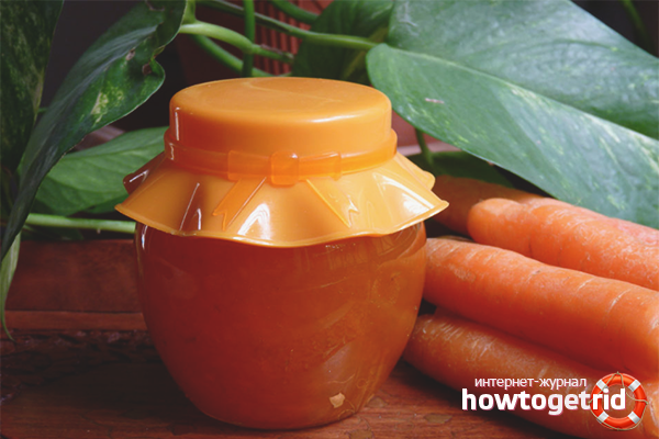 Варенье из моркови