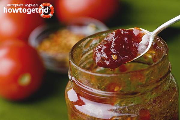 Варенье из помидоров «Черри»