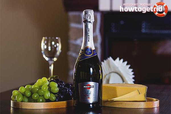Чем закусывать шампанское