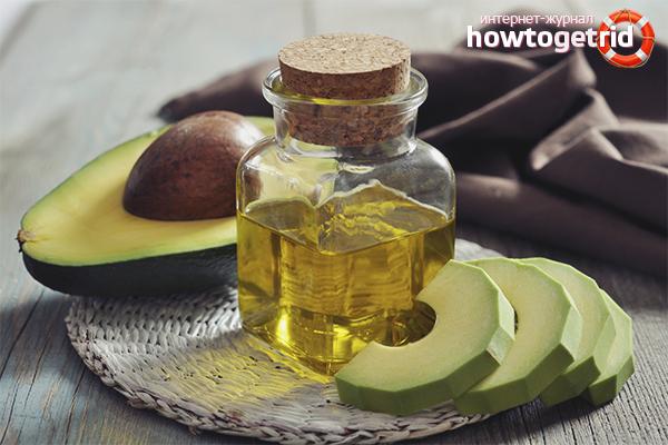 Как делать маску на волосы из масла авокадо