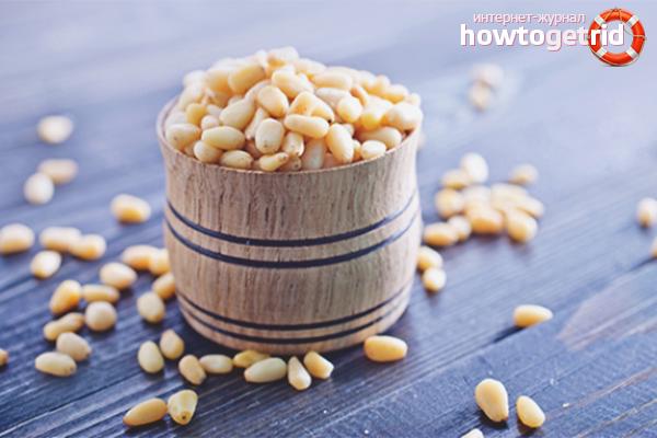 Как хранить кедровые орехи