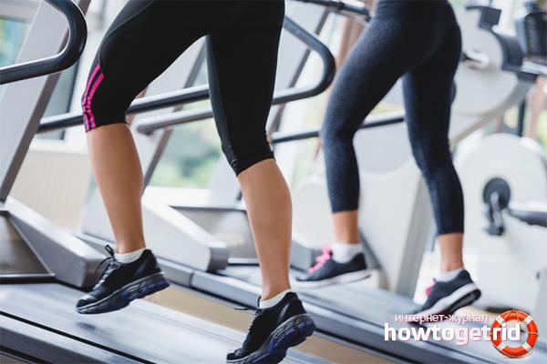 Как правильно бегать на беговой дорожке для похудения