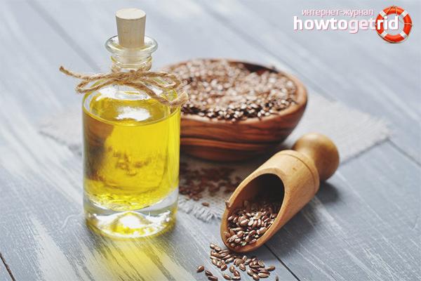 Льняное масло для повреждённых волос