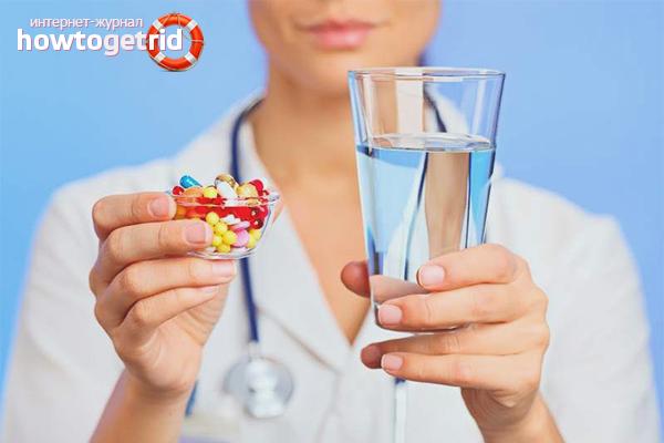 Медикаментозное лечение головной боли при гайморите