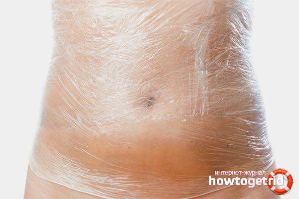 Особенности проведения обёртываний для похудения