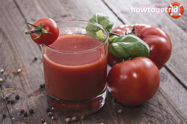 Польза и вред томатного сока
