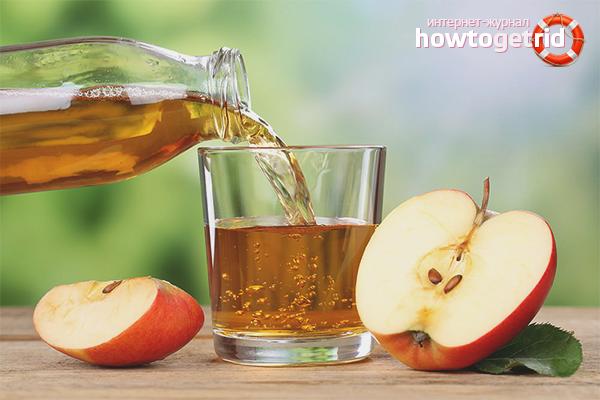 Польза свежевыжатого яблочного сока для кормящих матерей