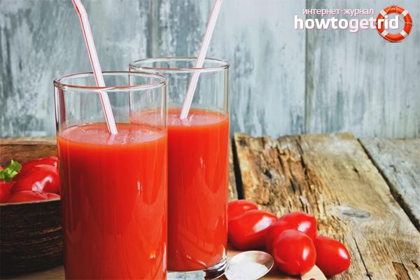 Польза томатного сока для сосудов и сердца