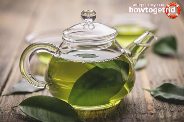 Польза зелёного чая для мужчин