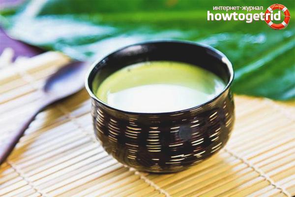 Польза зелёного чая с молоком