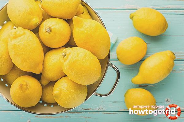 Противопоказания для употребления лимона