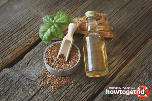 Способы использования льняного масла