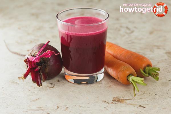 Свекольный сок с морковью