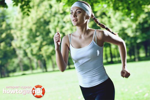 Как бегать, чтобы похудеть в животе
