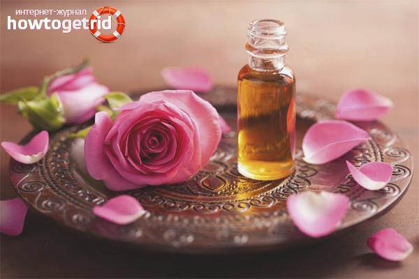 Как сделать розовое масло