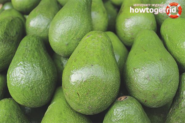 Как выбрать авокадо по цвету кожуры