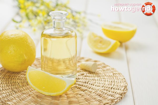 Лимонный эфир в косметологии