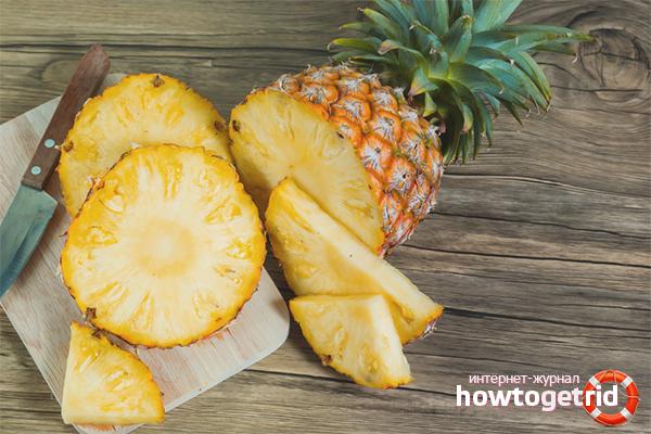 Польза ананаса при похудении