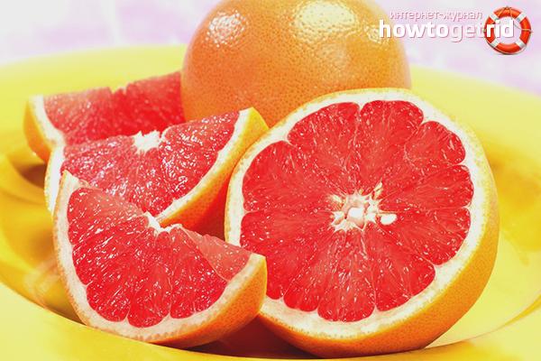 Польза грейпфрута для мужчин
