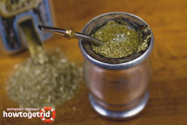 Правила заваривания чая мате