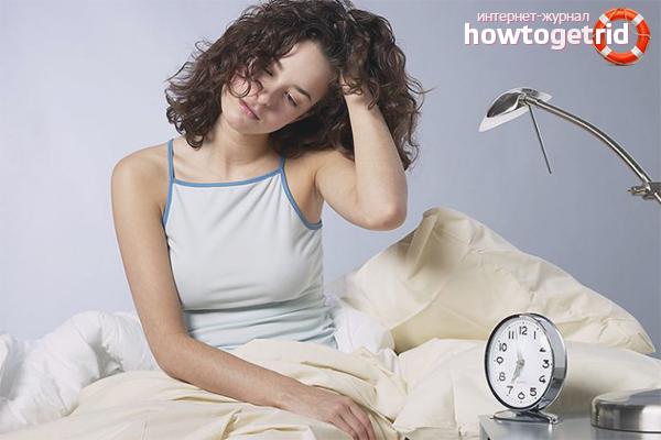 Причины хронического недосыпания