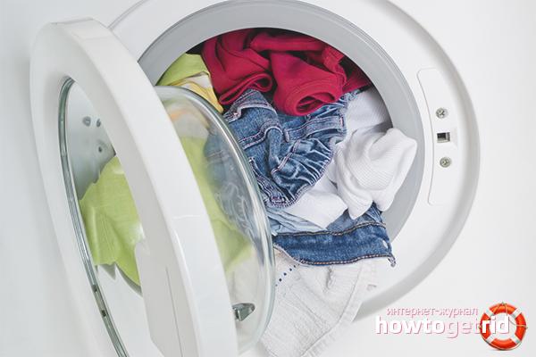 Стирка детских вещей в стиральной машине