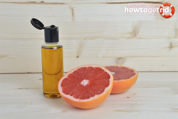 Эфир грейпфрута для волос