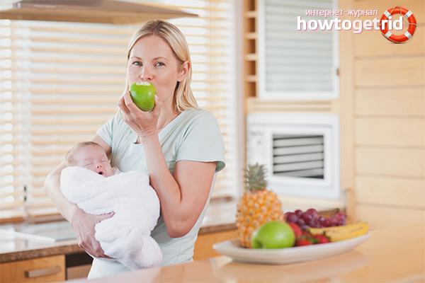 Какие фрукты можно есть кормящей маме