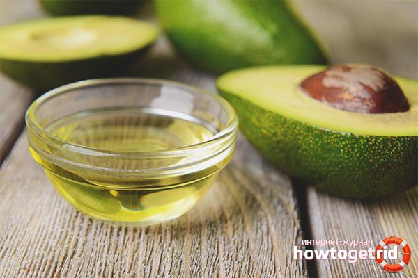 Лечебные свойства масла авокадо