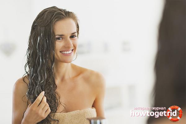 Маски для нарощенных волос
